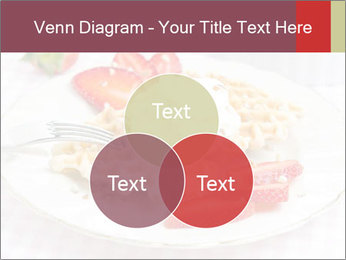 Belgian waffles with fresh strawberries PowerPoint Templates - Slide 33