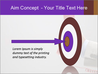 Red phone over gray background PowerPoint Templates - Slide 83