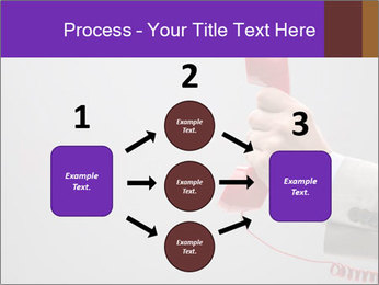 Red phone over gray background PowerPoint Templates - Slide 92
