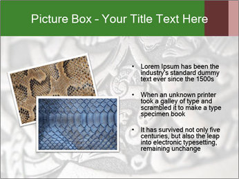 Viking wood carving depicting a dragon PowerPoint Template - Slide 20
