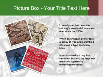 Viking wood carving depicting a dragon PowerPoint Templates - Slide 23