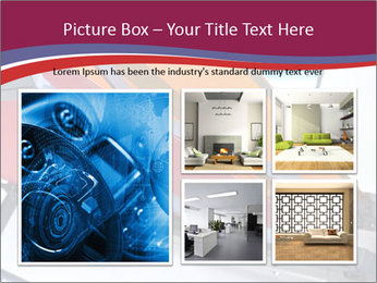 Fabric blinds PowerPoint Templates - Slide 19
