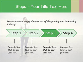 Young businessman PowerPoint Template - Slide 4