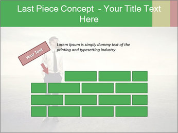 Young businessman PowerPoint Template - Slide 46