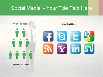 Young businessman PowerPoint Template - Slide 5
