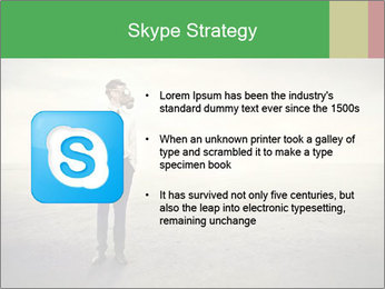 Young businessman PowerPoint Template - Slide 8