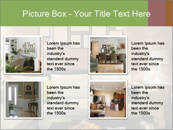 Modern living room PowerPoint Templates - Slide 14
