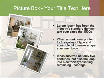 Modern living room PowerPoint Templates - Slide 17