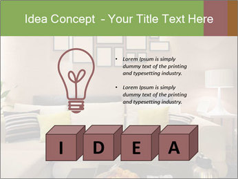 Modern living room PowerPoint Templates - Slide 80