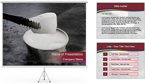 Smoke fog PowerPoint Template