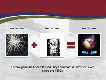 Smoke fog PowerPoint Template - Slide 22