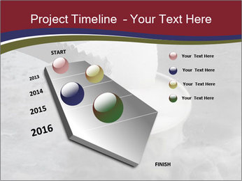 Smoke fog PowerPoint Template - Slide 26