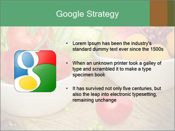 Fresh fruits and vegetables PowerPoint Templates - Slide 10