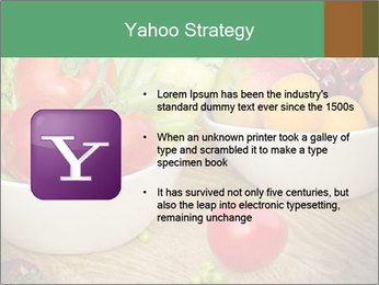Fresh fruits and vegetables PowerPoint Templates - Slide 11