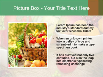 Fresh fruits and vegetables PowerPoint Templates - Slide 13