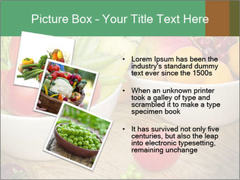 Fresh fruits and vegetables PowerPoint Templates - Slide 17