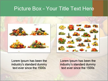 Fresh fruits and vegetables PowerPoint Templates - Slide 18