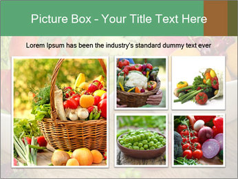 Fresh fruits and vegetables PowerPoint Templates - Slide 19