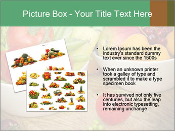 Fresh fruits and vegetables PowerPoint Templates - Slide 20