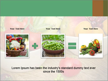 Fresh fruits and vegetables PowerPoint Templates - Slide 22