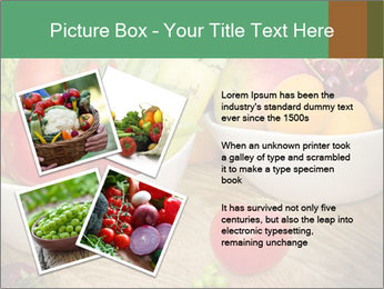 Fresh fruits and vegetables PowerPoint Templates - Slide 23