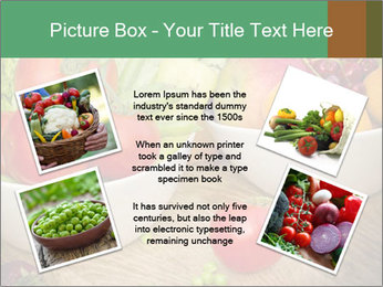 Fresh fruits and vegetables PowerPoint Templates - Slide 24