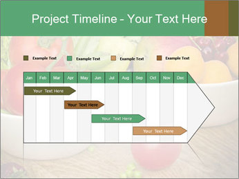Fresh fruits and vegetables PowerPoint Templates - Slide 25