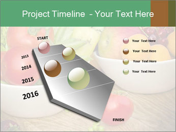 Fresh fruits and vegetables PowerPoint Templates - Slide 26