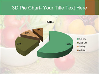 Fresh fruits and vegetables PowerPoint Templates - Slide 35