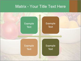 Fresh fruits and vegetables PowerPoint Templates - Slide 37