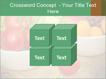Fresh fruits and vegetables PowerPoint Templates - Slide 39