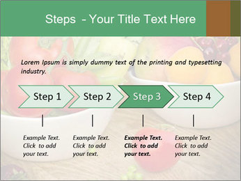 Fresh fruits and vegetables PowerPoint Templates - Slide 4