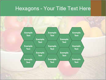 Fresh fruits and vegetables PowerPoint Templates - Slide 44