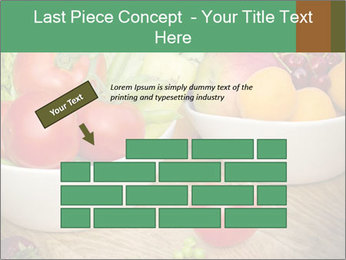 Fresh fruits and vegetables PowerPoint Templates - Slide 46