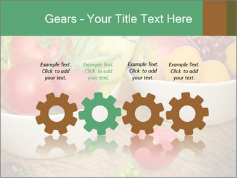 Fresh fruits and vegetables PowerPoint Templates - Slide 48