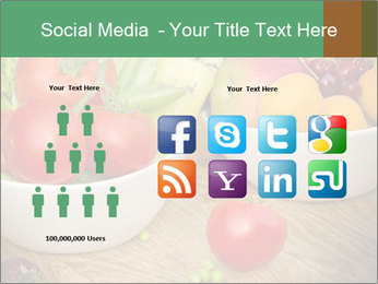 Fresh fruits and vegetables PowerPoint Templates - Slide 5