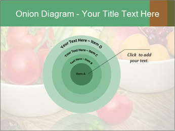 Fresh fruits and vegetables PowerPoint Templates - Slide 61