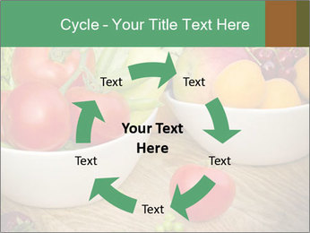 Fresh fruits and vegetables PowerPoint Templates - Slide 62