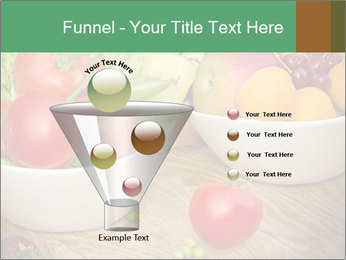 Fresh fruits and vegetables PowerPoint Templates - Slide 63