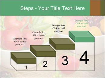 Fresh fruits and vegetables PowerPoint Templates - Slide 64