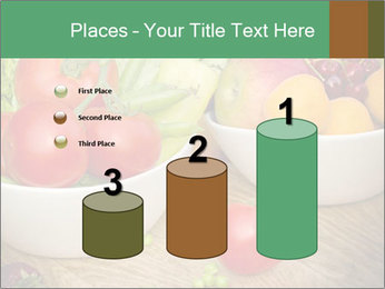Fresh fruits and vegetables PowerPoint Templates - Slide 65