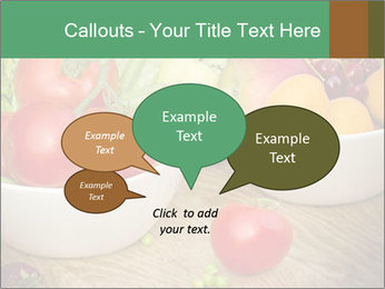 Fresh fruits and vegetables PowerPoint Templates - Slide 73