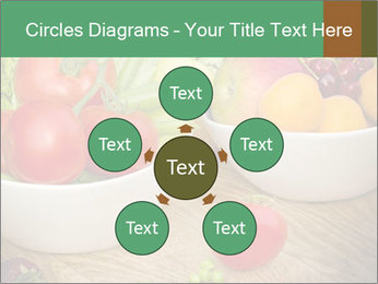 Fresh fruits and vegetables PowerPoint Templates - Slide 78