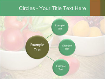 Fresh fruits and vegetables PowerPoint Templates - Slide 79