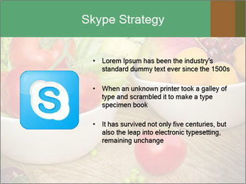 Fresh fruits and vegetables PowerPoint Templates - Slide 8