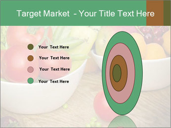 Fresh fruits and vegetables PowerPoint Templates - Slide 84