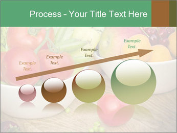 Fresh fruits and vegetables PowerPoint Templates - Slide 87