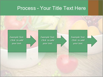 Fresh fruits and vegetables PowerPoint Templates - Slide 88