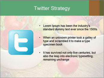 Fresh fruits and vegetables PowerPoint Templates - Slide 9