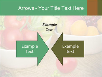 Fresh fruits and vegetables PowerPoint Templates - Slide 90